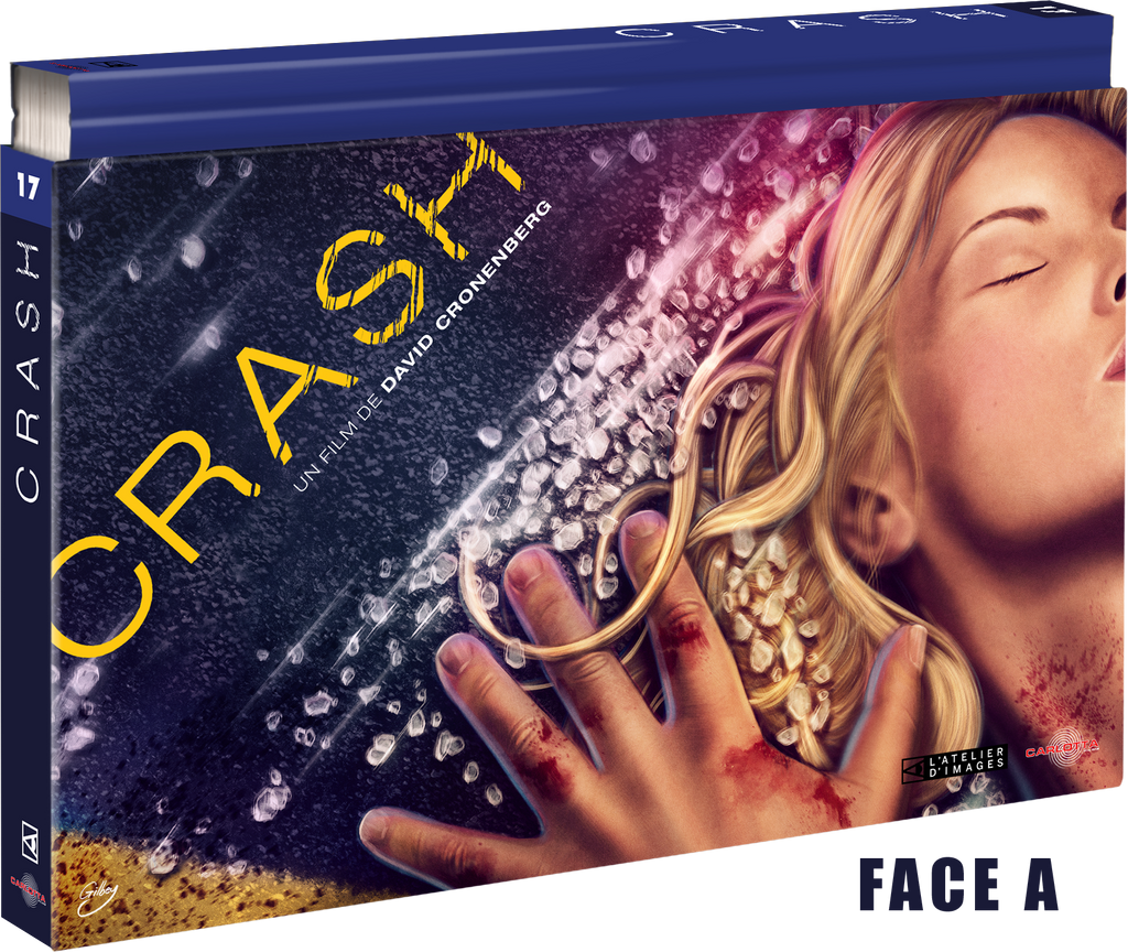 Crash - Coffret Ultra Collector 17 - 4K Ultra HD + Blu-ray + DVD + Livre