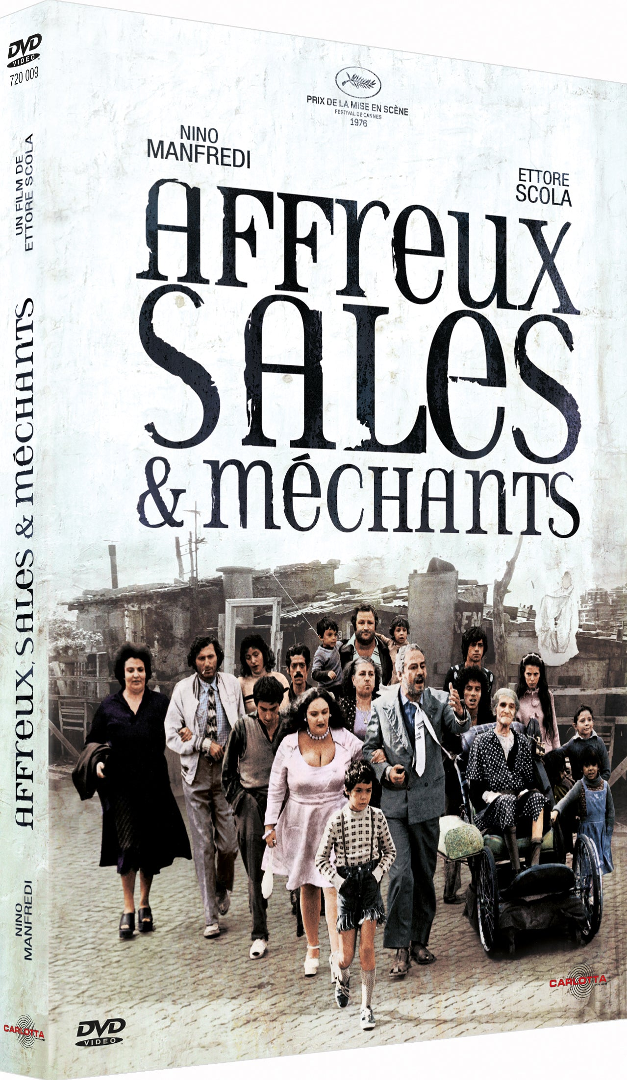 Affreux, sales et méchants d'Ettore Scola - CARLOTTA FILMS - La Boutique