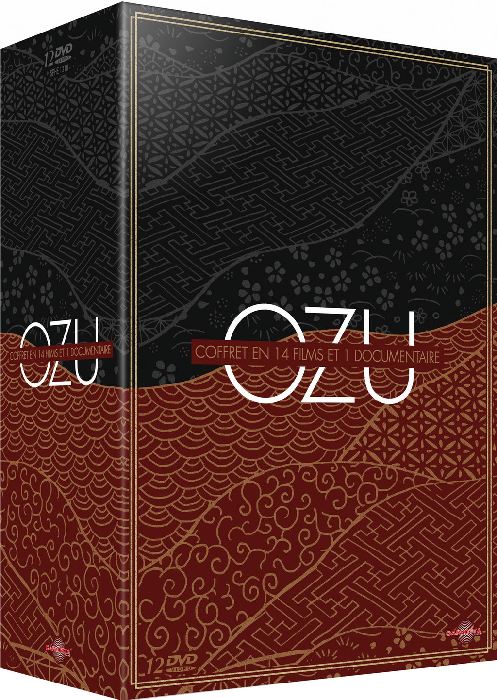 Ozu en 14 films et 1 documentaire - Coffret 12 DVD - Carlotta Films - La Boutique