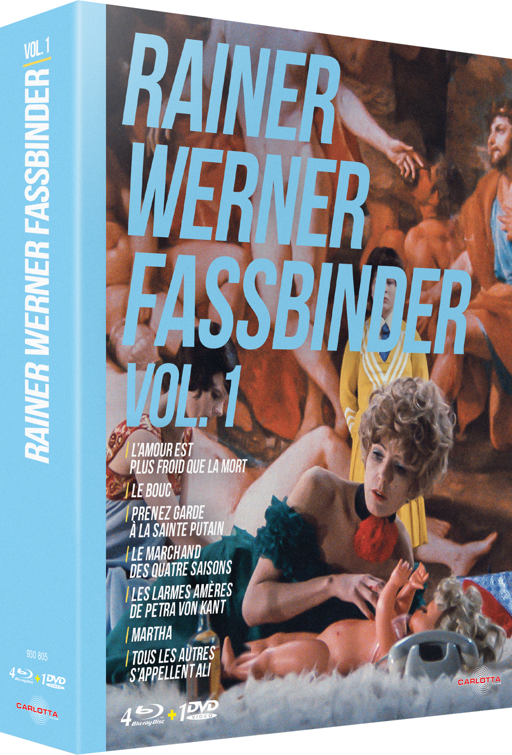 Coffret Rainer Werner Fassbinder Vol. 1 - Blu-ray - CARLOTTA FILMS - La Boutique