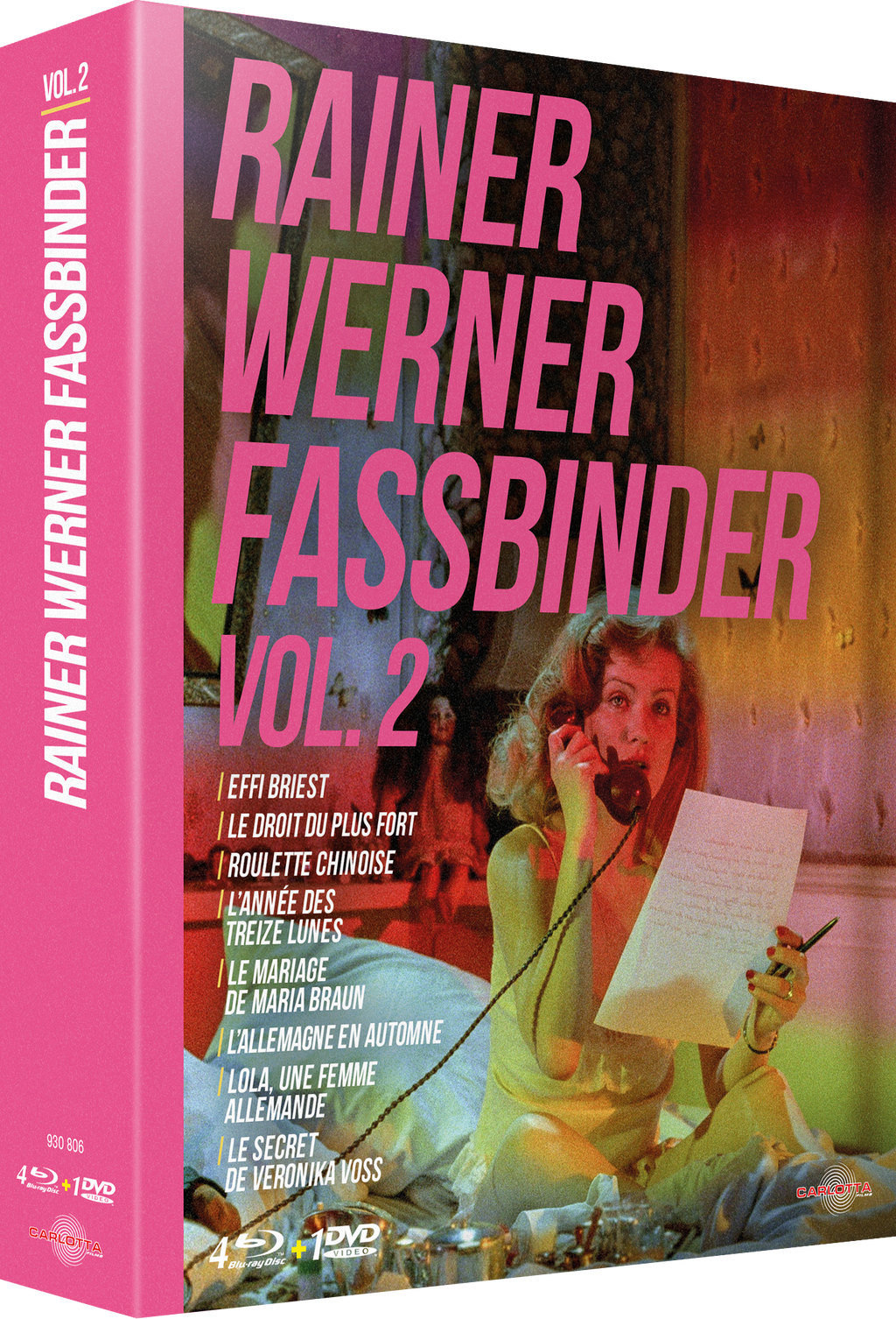 Coffret Rainer Werner Fassbinder Vol. 2 - Blu-ray - CARLOTTA FILMS - La Boutique