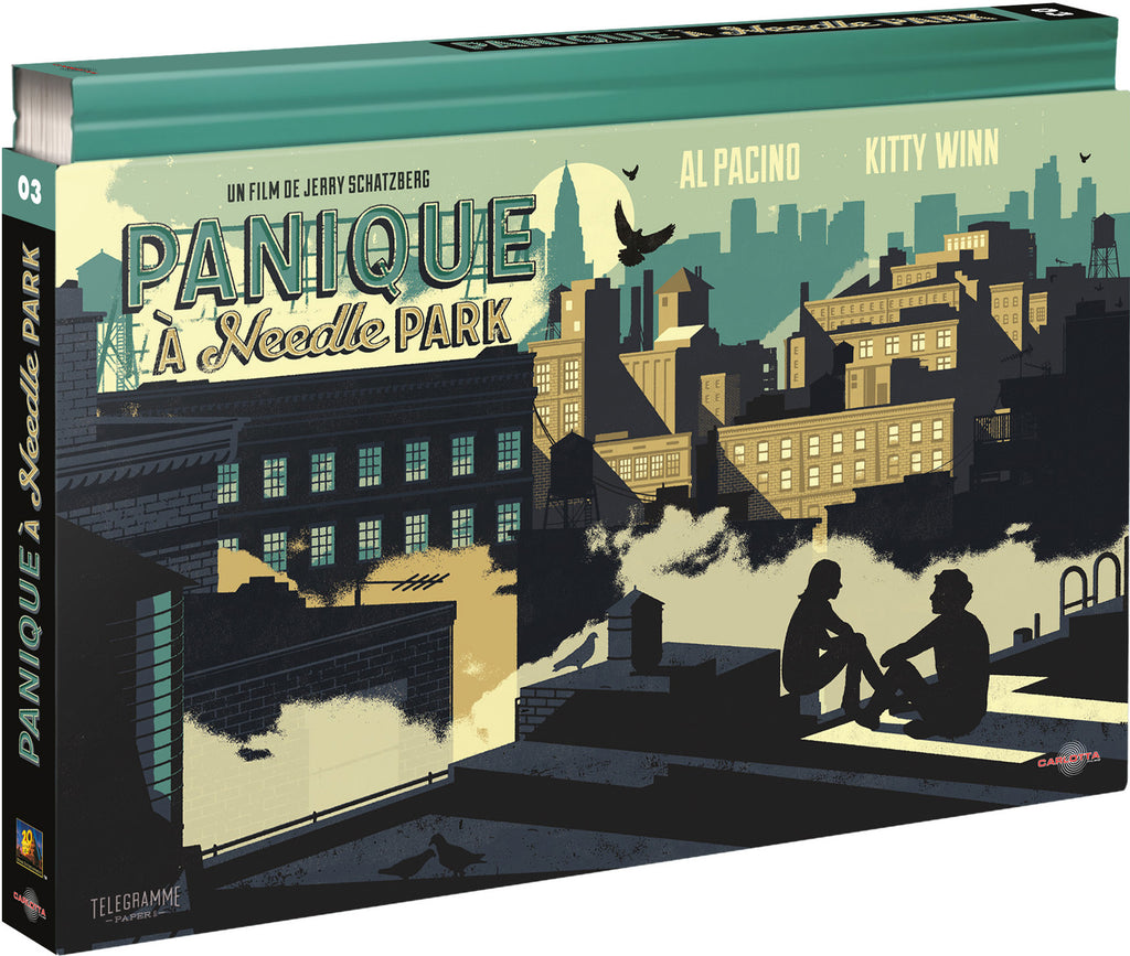 Panique à Needle Park - Coffret Ultra Collector 03 - Blu-ray + DVD + Livre