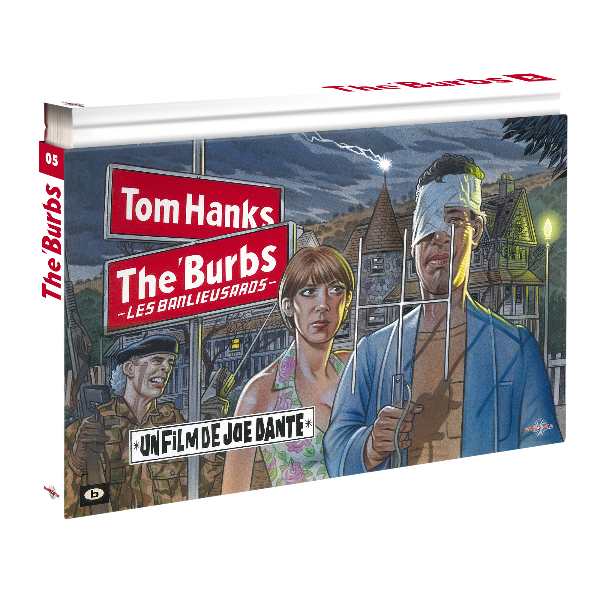 The 'Burbs - Coffret Ultra Collector 05 - Blu-ray + DVD + Livre - CARLOTTA FILMS - La Boutique