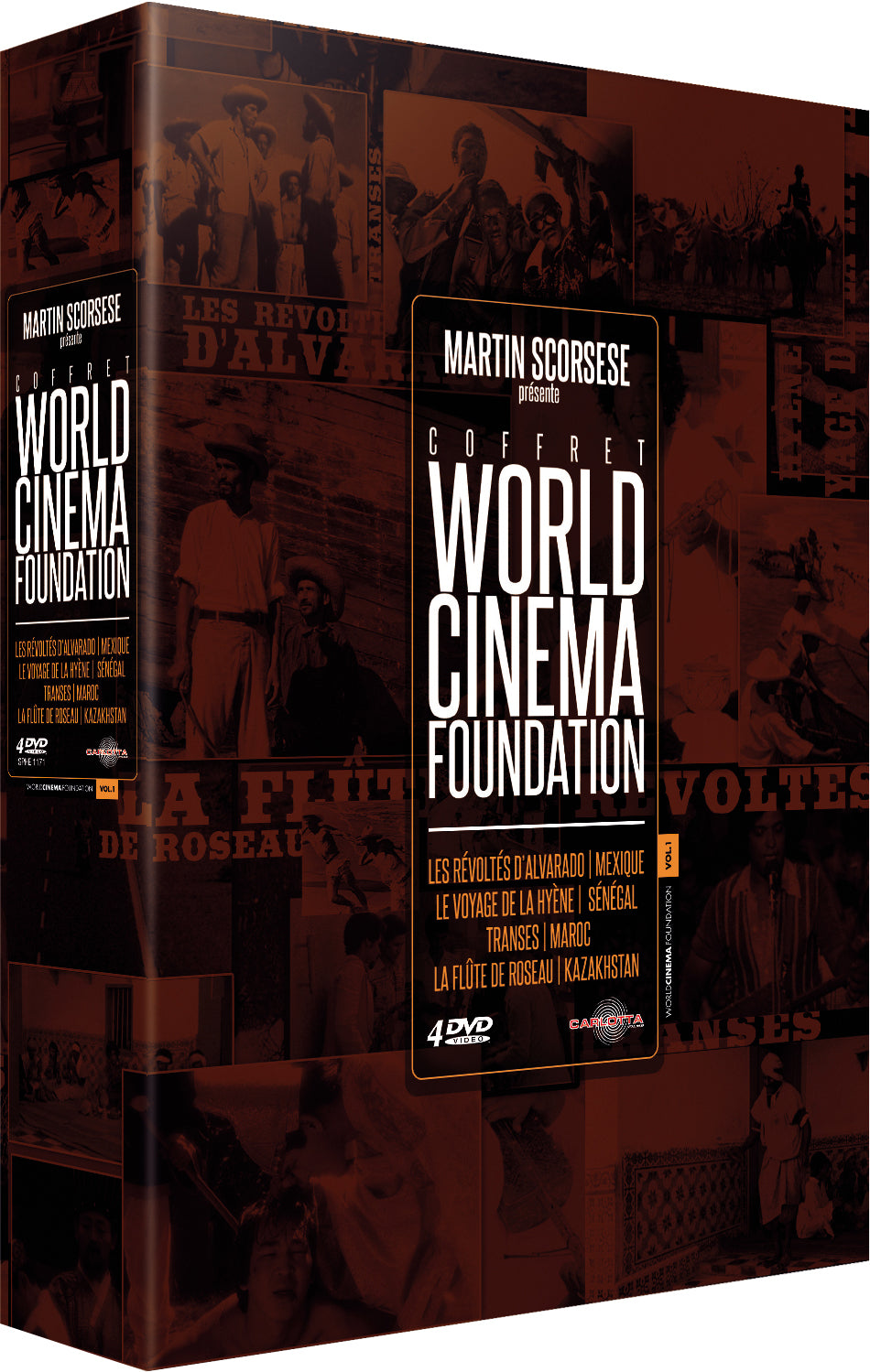 Coffret World Cinema Foundation - DVD - CARLOTTA FILMS - La Boutique