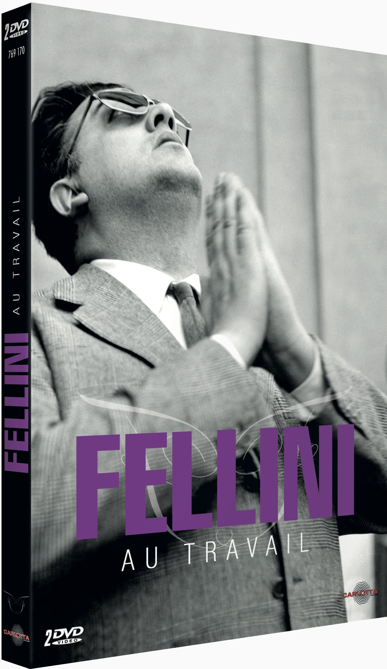 Fellini au travail - DVD - CARLOTTA FILMS - La Boutique