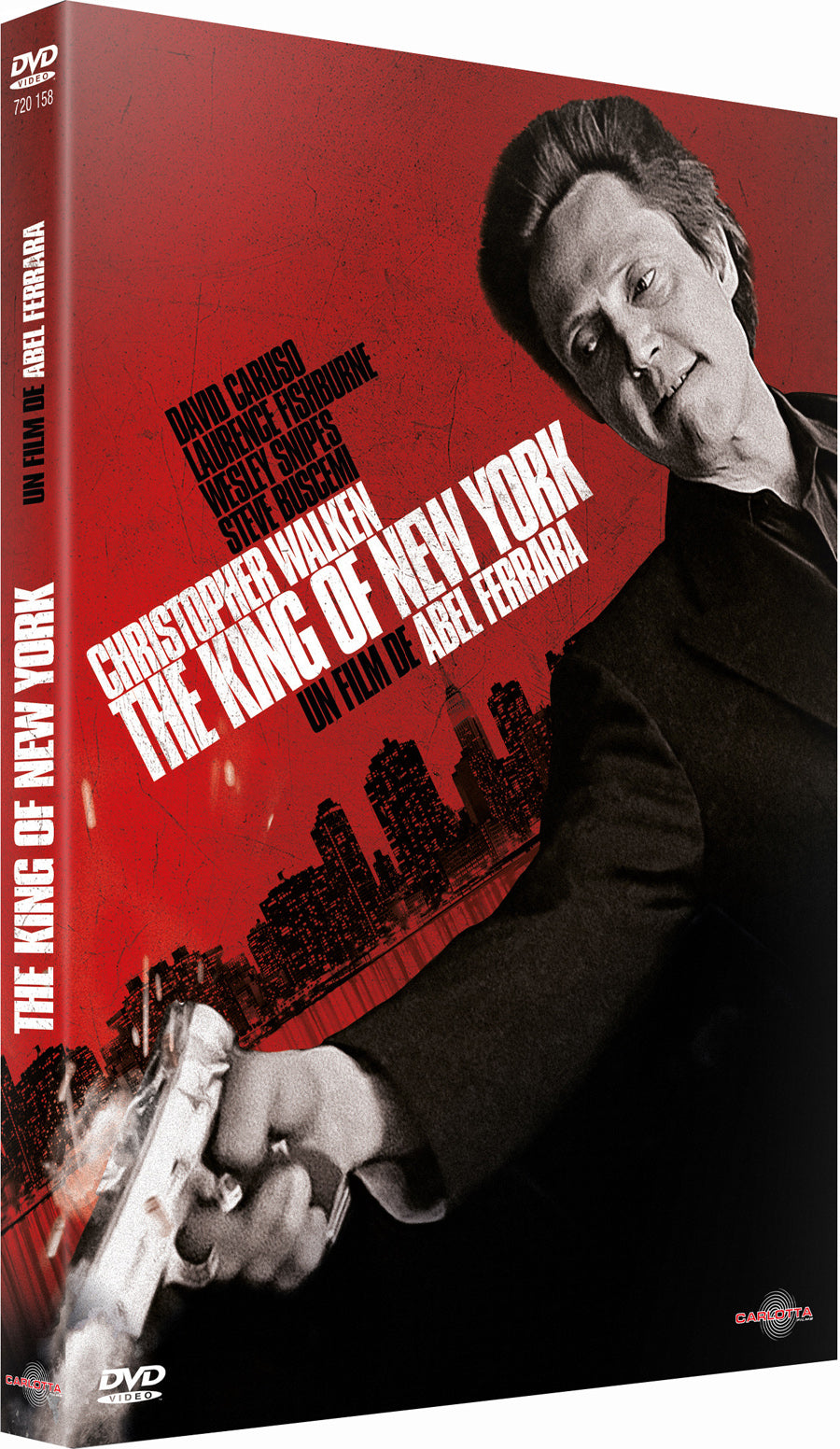 The King of New York d'Abel Ferrara - CARLOTTA FILMS - La Boutique