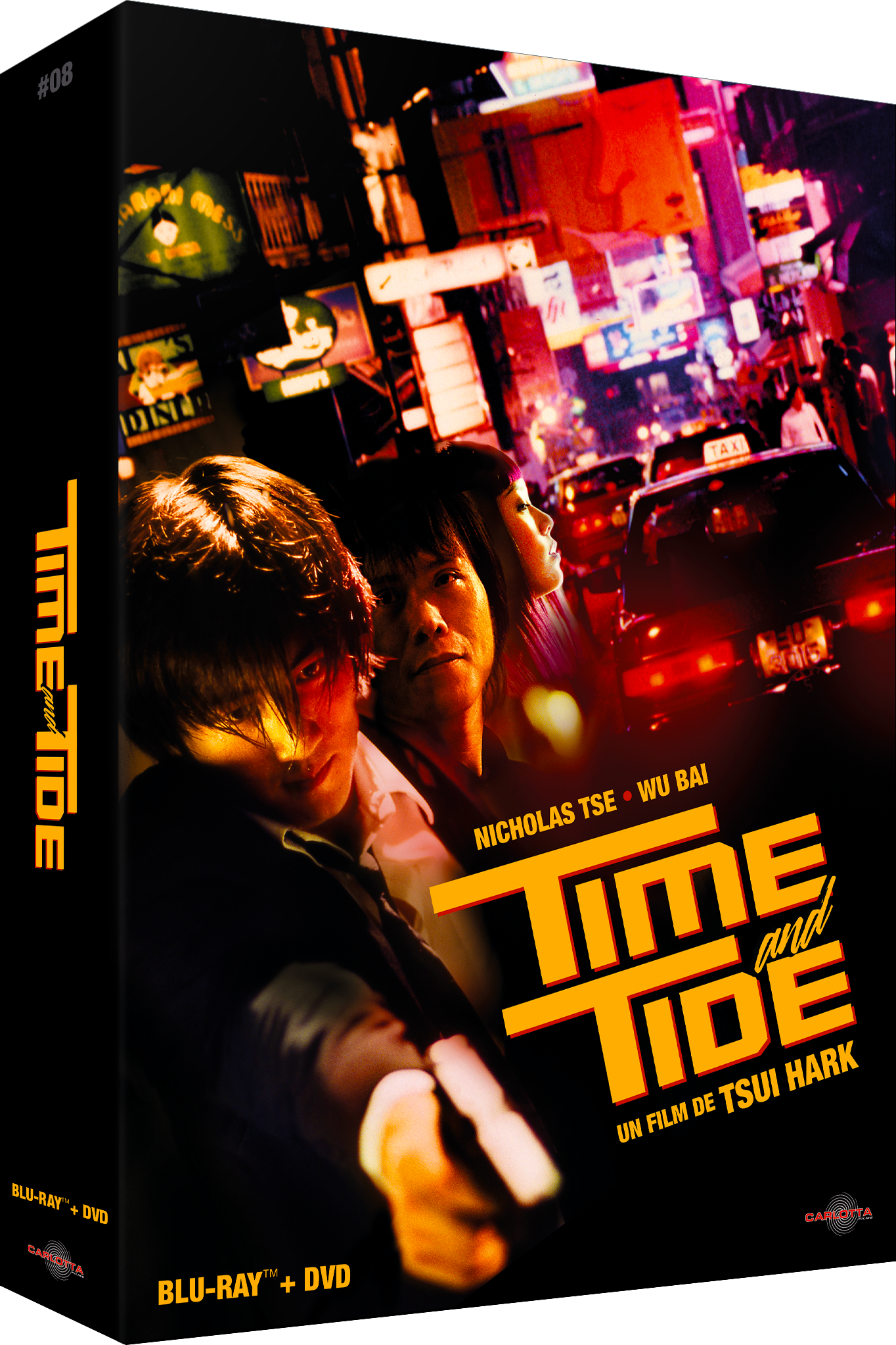 Time and Tide - Édition Prestige Limitée Combo Blu-ray/DVD + Memorabilia - CARLOTTA FILMS - La Boutique