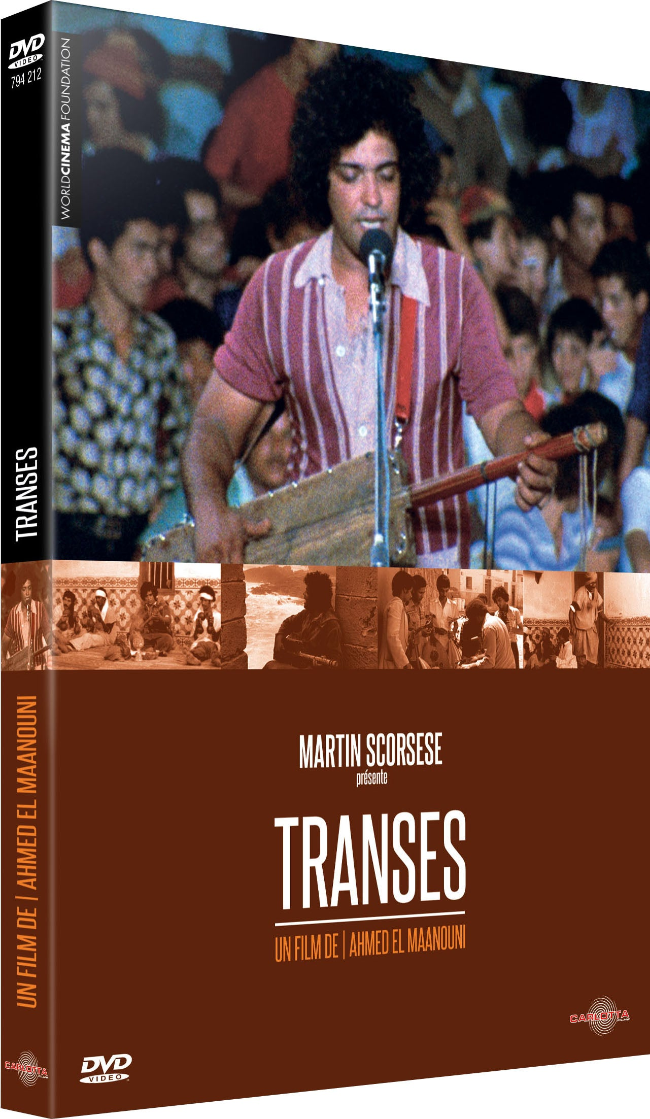 Transes d'Ahmed El Maanouni - DVD - CARLOTTA FILMS - La Boutique