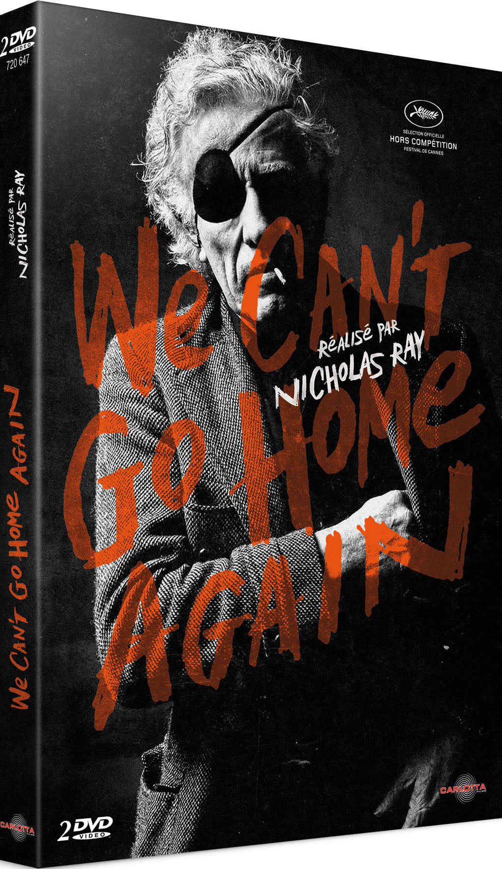 We Can't Go Home Again de Nicholas Ray - DVD - CARLOTTA FILMS - La Boutique