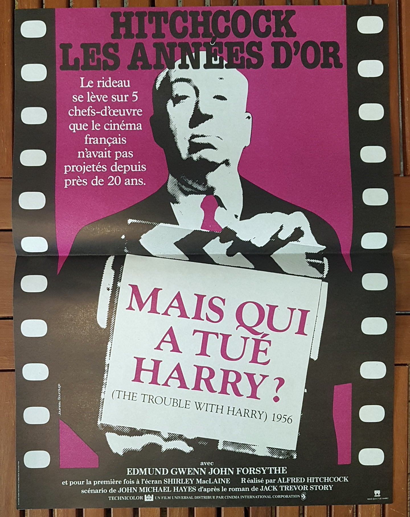 Affiche Mais qui a tué Harry ?