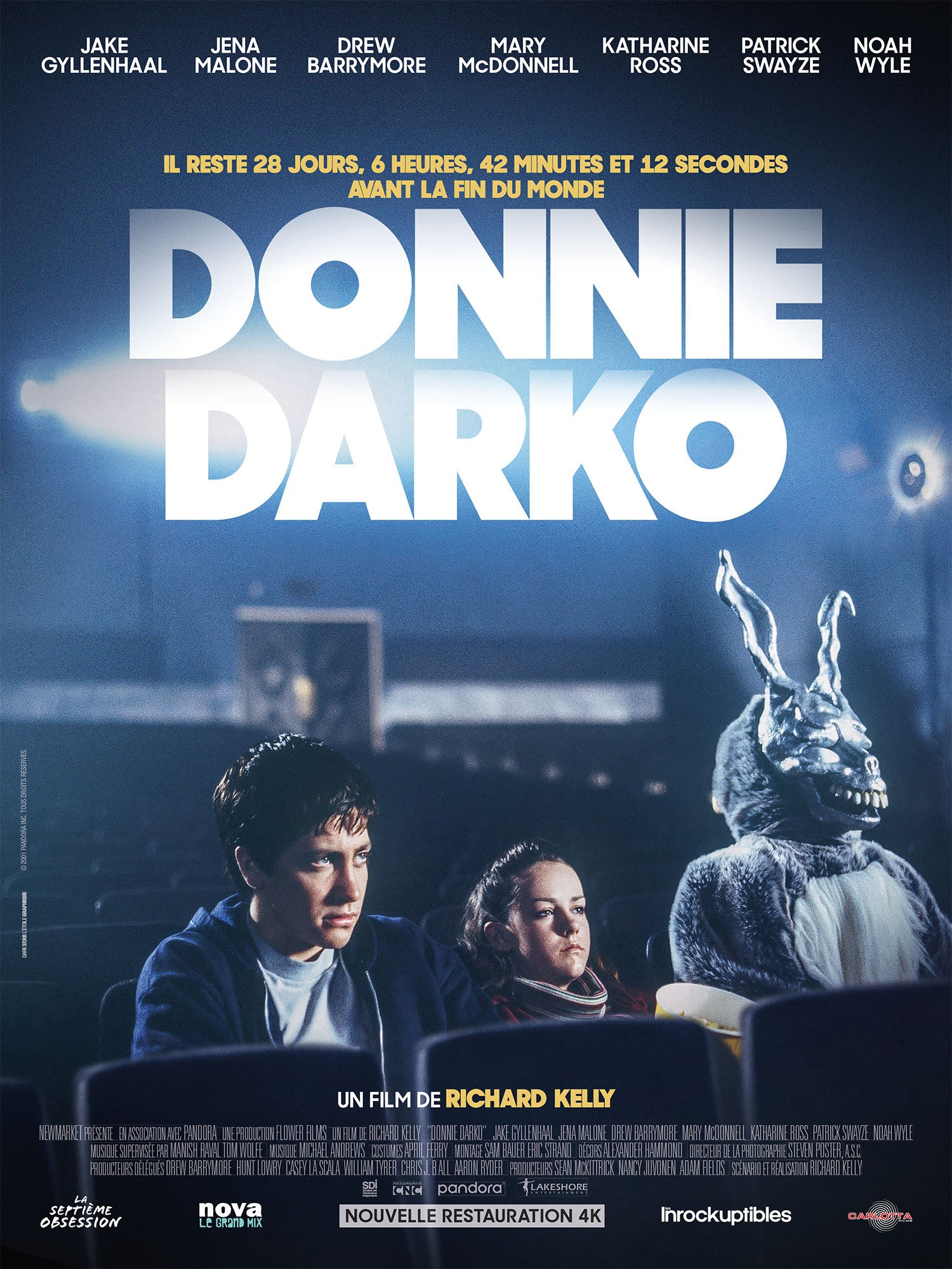 Donnie Darko - Affiche - CARLOTTA FILMS - La Boutique