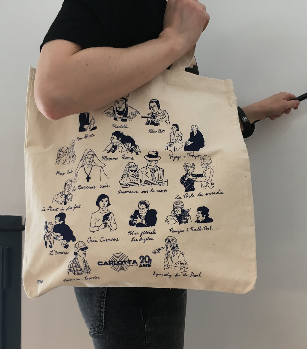 Tote bag Collector 20 Ans - CARLOTTA FILMS - La Boutique