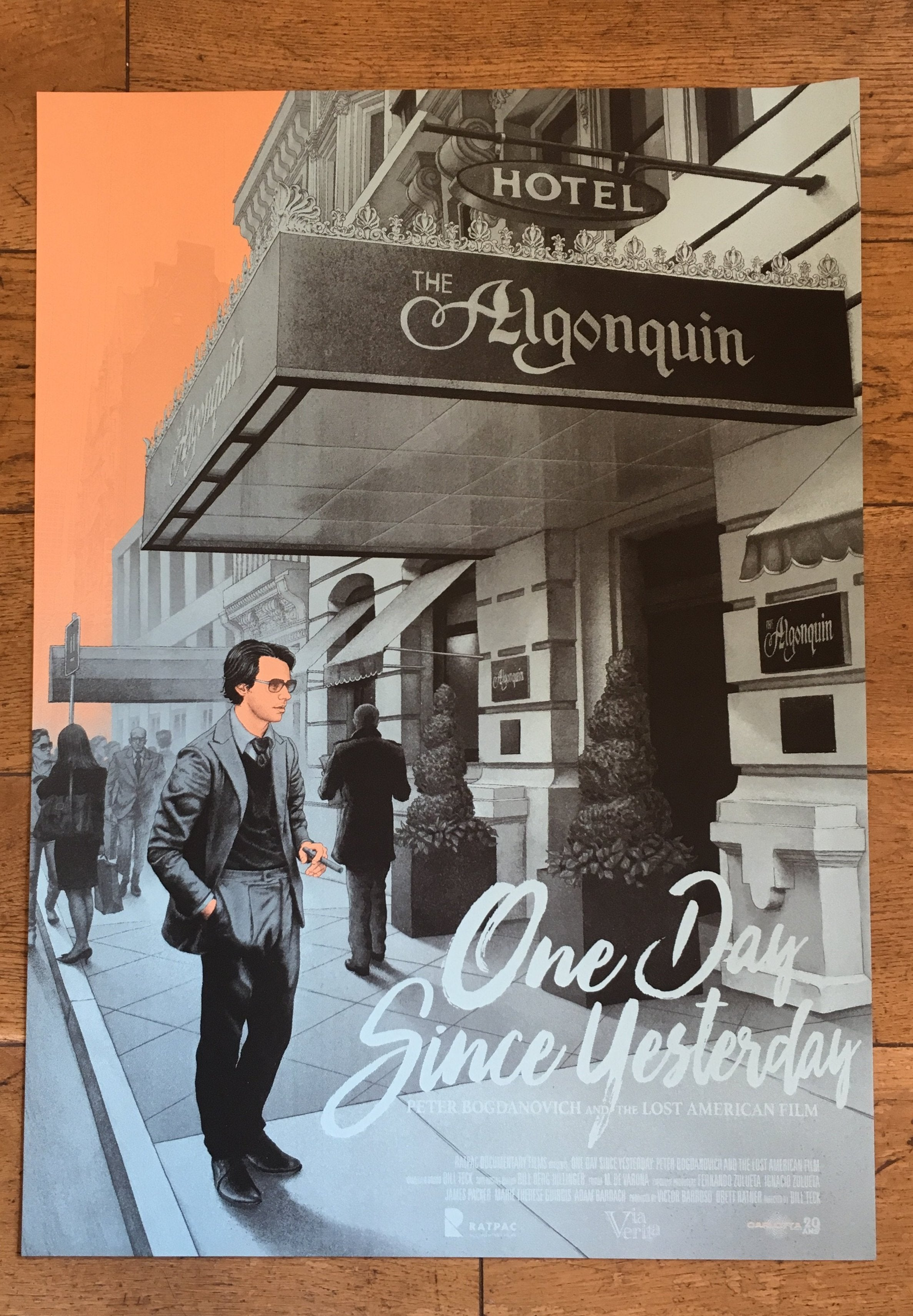 One Day Since Yesterday - Affiche Sérigraphie - CARLOTTA FILMS - La Boutique