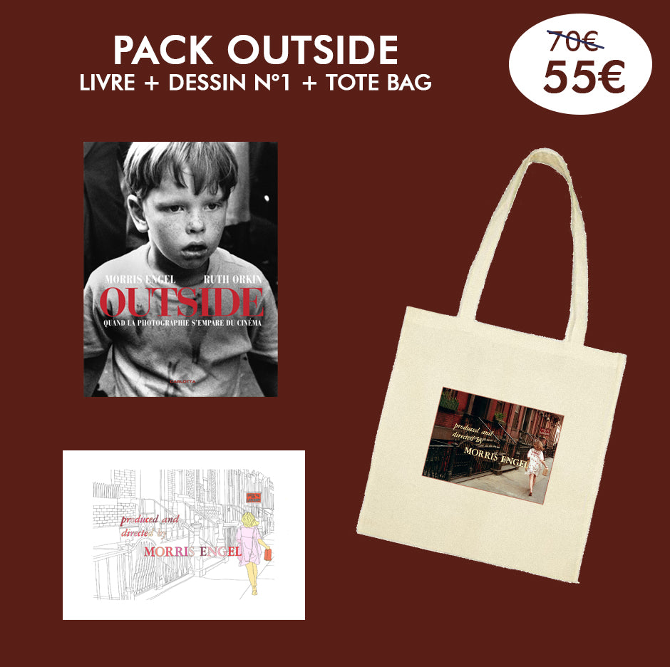 Pack Outside Livre + Dessin + Tote Bag