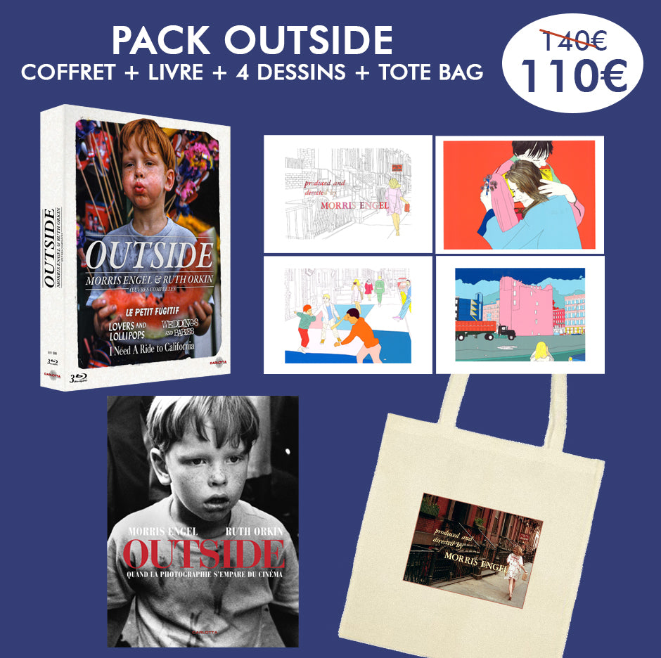 Pack Outside Coffret + Livre + Dessin + Tote Bag