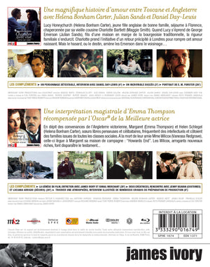 Coffret James Ivory - Blu-ray