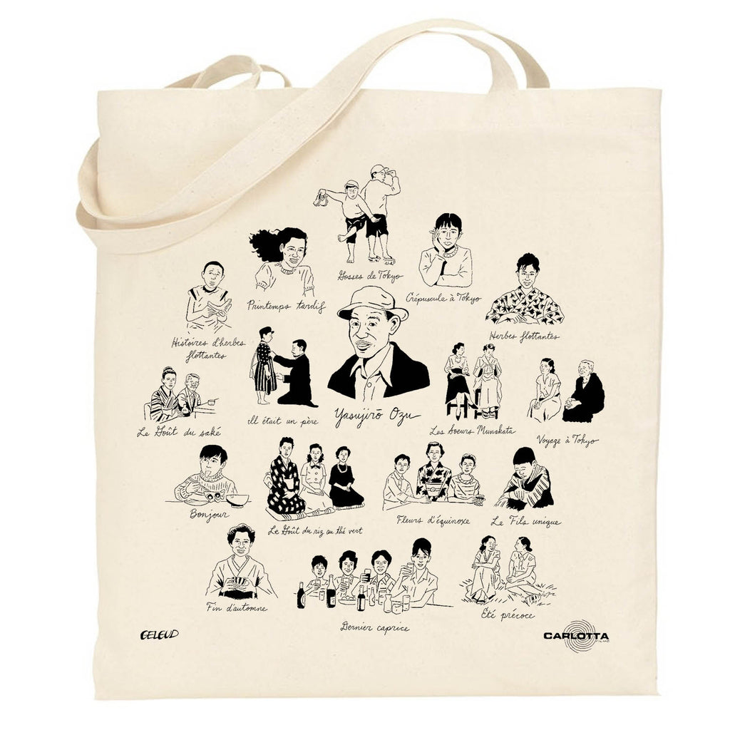 Ozu Tote bag Collector par Nathan Gelgud