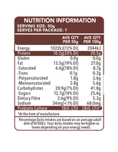 Load image into Gallery viewer, Go Natural Hiprotein Double Chocolate Slab (50g)