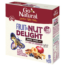 Load image into Gallery viewer, Fruit_And_Nut_With_Dark_Chocolate_Go_Natural_Snack_Bar_Box