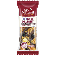 Load image into Gallery viewer, Fruit_And_Nut_With_Dark_Chocolate_Go_Natural_Snack_Bar