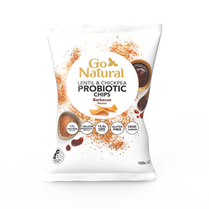 Go Natural Barbecue Probiotic Chips (100g)