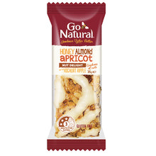 Load image into Gallery viewer, Honey_Almond_Apricot_Ripple_Go_Natural_Snack_Bar