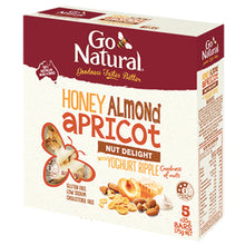Load image into Gallery viewer, Honey_Almond_Apricot_Ripple_Go_Natural_Snack_Bar_Box
