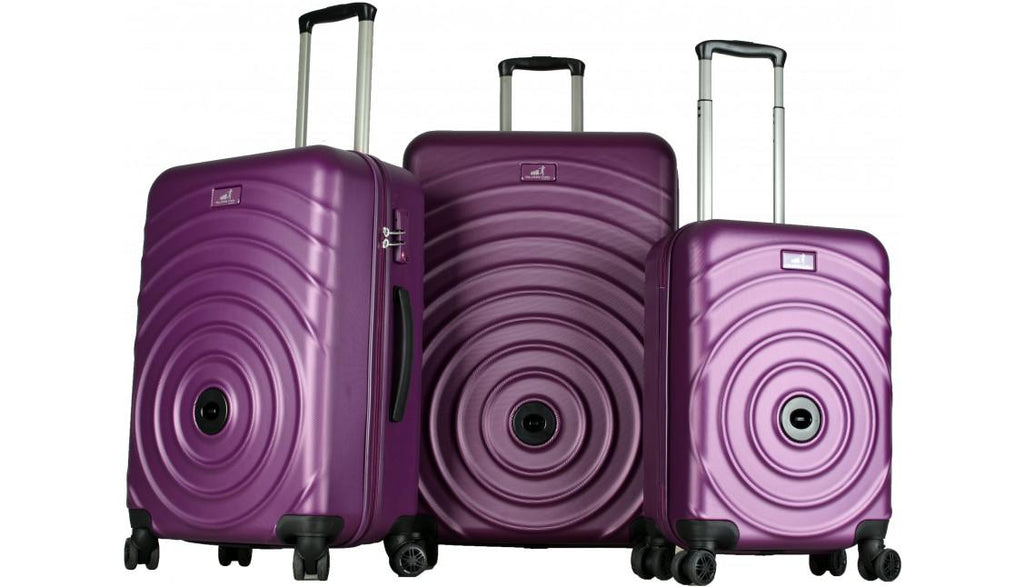 Set de 3 valises coloris Violet - My Little Train My Little Train