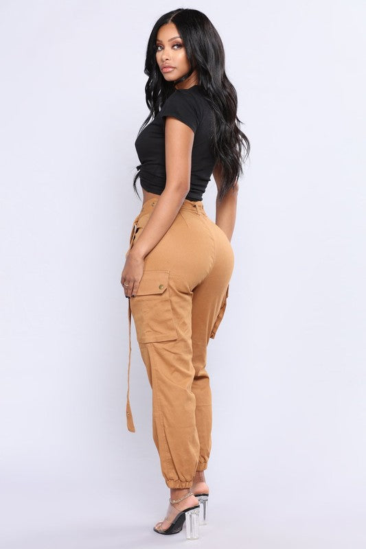 No Limit Cargo Pants - Pinq boutique