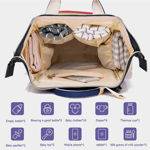 Diaper Bag Maternity Travel Backpacks / Handbag - Pinq boutique
