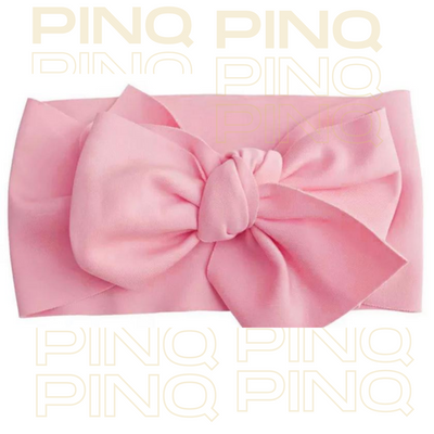 Big Bow Knotted Headband - Pinq boutique