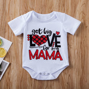 """Big Love Mama"" Onesie - Pinq boutique"
