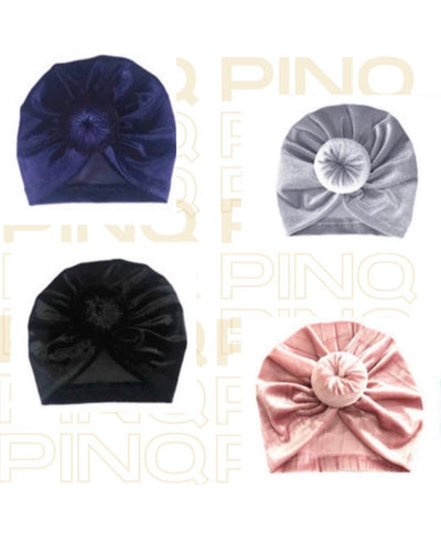 Velvet Infant Turbans - Pinq boutique