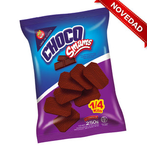 Galletas de chocolate SMAMS - 250Grs