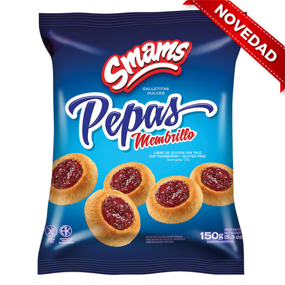 Galletitas pepas de membrillo SMAMS - 150Grs