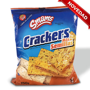Galletas Cracker con semillas SMAMS - 150Grs
