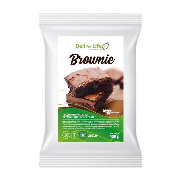 Brownie 400g Deli for life