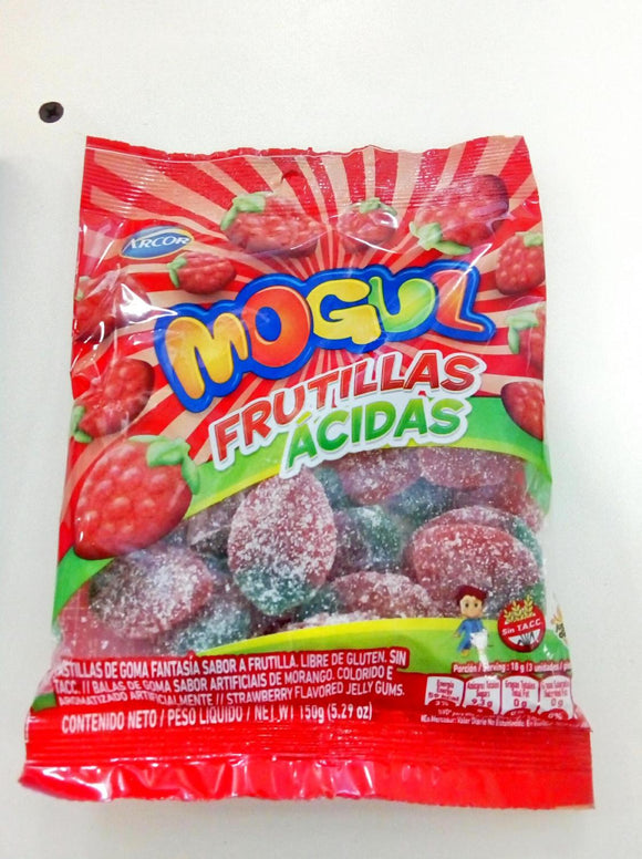 Mogul Frutillas acidas Arcor 150g