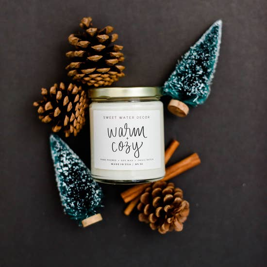 Warm Cozy Soy Candle
