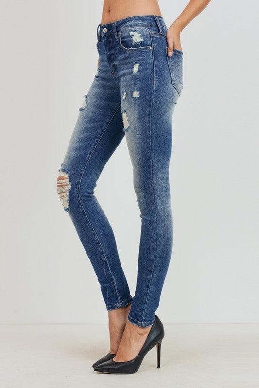 Tiffany Mid Rise Denim