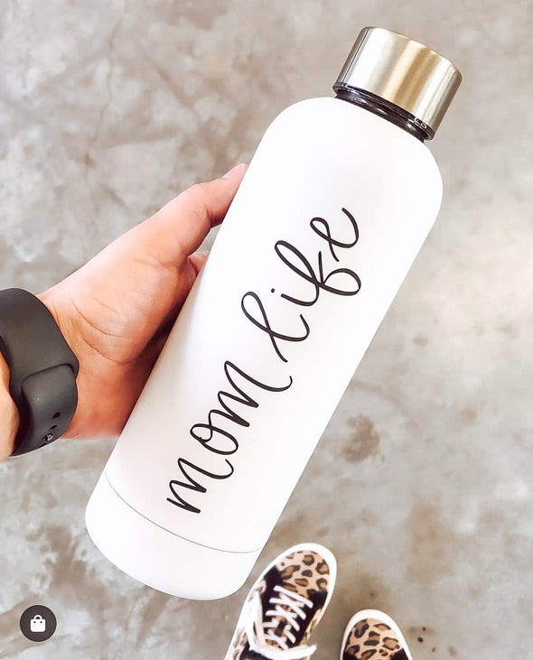 Mom Life - Metal Water Bottle