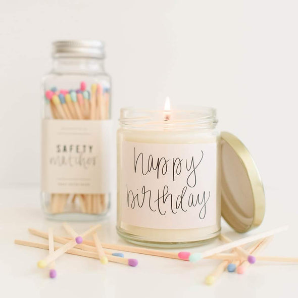 Happy Birthday - Soy Candle