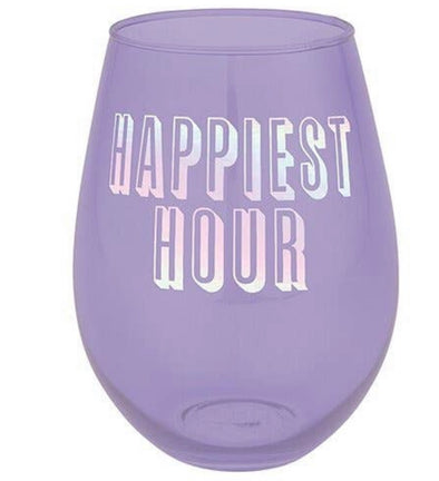Happiest Hour Stemless Cup