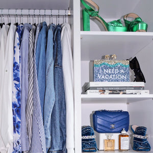 organise: 5 space saving essentials for your wardrobe