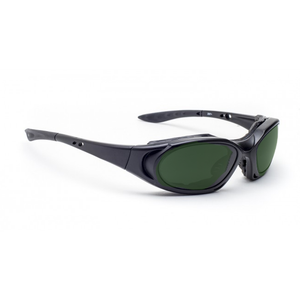 BoroView 5.0 Glassworking Lenses in Model 1171 Black frame by Phillips Safety Products