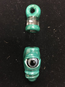 Magnetic Cyclops Pendant #8 by Pat Jones