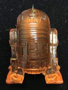 Orange R2D2 Pendant by Jason Chakravarty