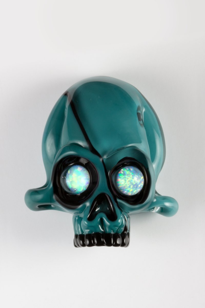Opaque Aqua by Northstar Glassworks