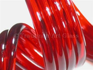 Red Elvis by Trautman Art Glass
