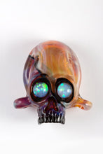 Load image into Gallery viewer, Amber/Purple Northstar Glassworks